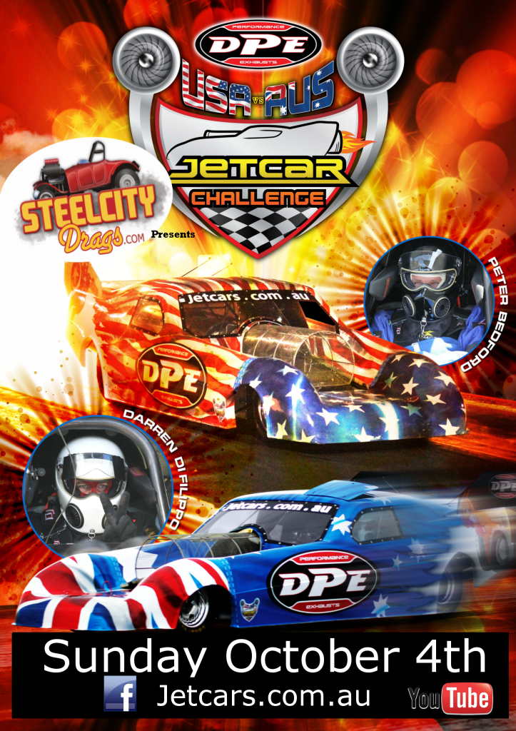 Whyalla Jet Car Poster