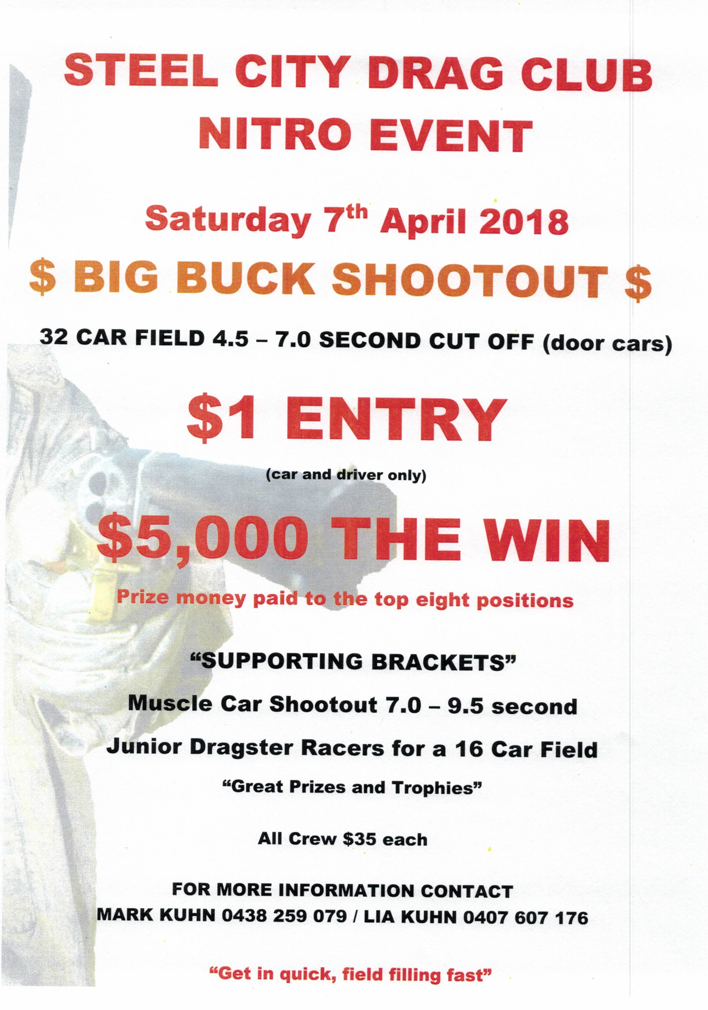 Big Bucks Shootout 16022018